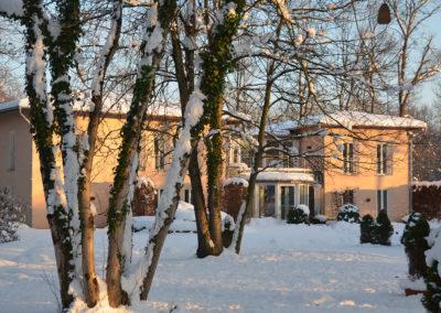 Gästehaus am Neujahrsabend