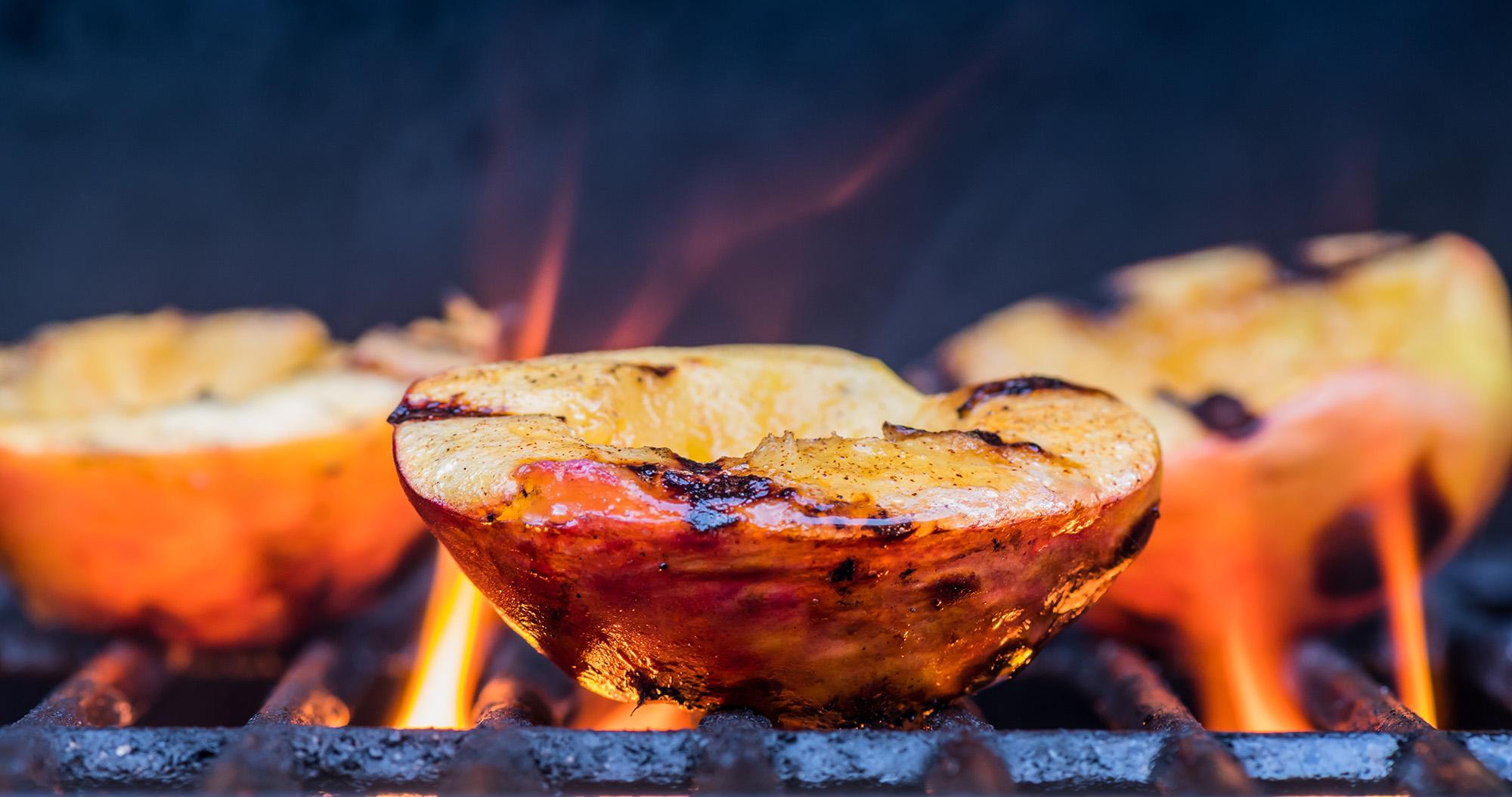 Ayurvedisches BBQ Pfirsich