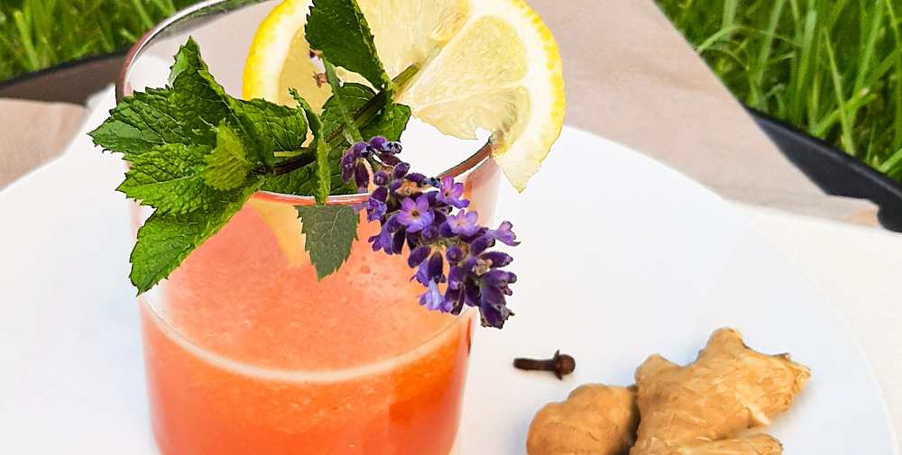 Sommerdrinks Melone